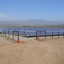 Recent commercial solar installation in Monterey