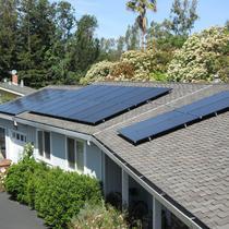 Solar panel installation in Monterey