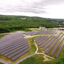Our community solar farms bring solar to a wider audience.