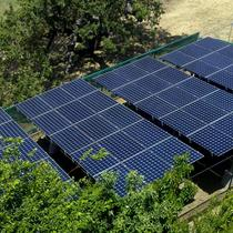 Solar Ground Mount Project in Los Gatos Mountains