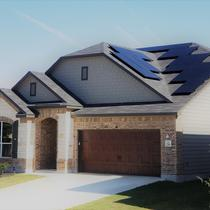 Solar in the front of your home can be beautiful!