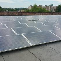 Commercial Flat roof install in DC