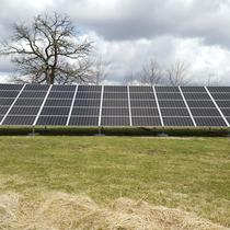 20kW Ground mounted solar array in Harvard, IL