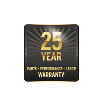 Triple Warranty Badge