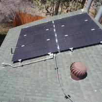 Sunpreme bi-facial modules with SolarEdge inverter and optimizers