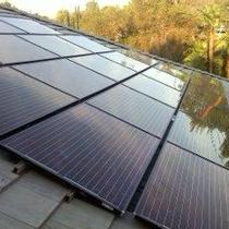 SolarWorld Black-on-Black modules with Enpahse M215 microinverters - Riverside