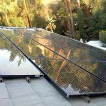SolarWorld Black-on-Black modules with Enpahse M215 microinverters