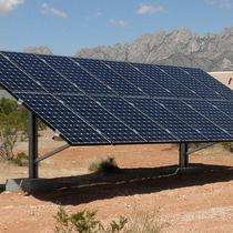 Ground Mounted Solar Install in Santa Fe, NM