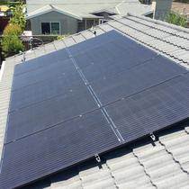 Japan Solar Jet Black panels