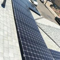 LG panels installed with Enphase Micro-Inverters