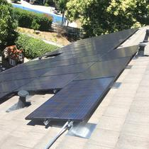 Panasonic jet-black solar panels