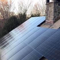 LG panels installed in Westport CT