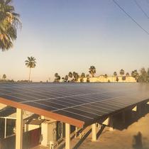 195kW, (540) SolarWorld 345's