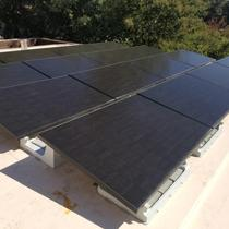 TPO flat roof in Orinda with Dynoraxx and Solaria