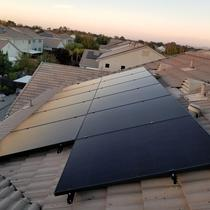 9.36kw in Lincoln, CA with Solaria and Solaredge.