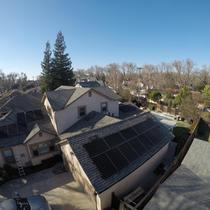 Another view of the Sunpower installation in Modesto