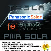 we have limited inventory of Panasonic/Tesla Modules