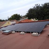 Ballast Flat Roof