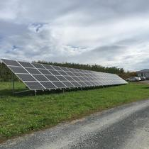 25kW PV Commerical Apple Orchard Milton, NY