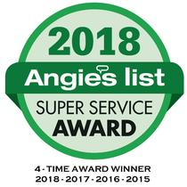 4-Time Winner of Angie's List Super Service Award