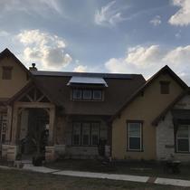Ashphalt and Copper Roof
