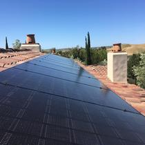 7.2 kW System on Clay Tile Roof - Ladera Ranch