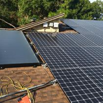 20KW PV and 120G Hot Water