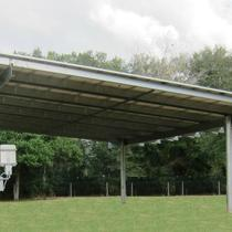 "21.2KW Solar Carport 12"" High"
