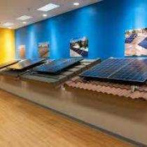 Solar Rooftops in Showroom