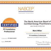 NABCEP Pro CERTIFICATION