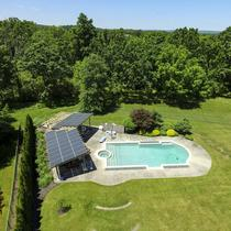 Solar Pergola in Franklin Twp, NJ