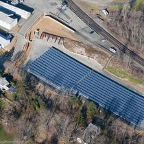 GPE's 322 kw Solar Farm located at our office in Annandale, NJ