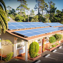 Comfort Inn, Monterey, CA Commercial Install