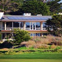 Residential Solar installation, Pebble Beach, CA
