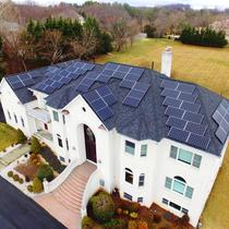 Net $0 home solar system in Potomac, MD.