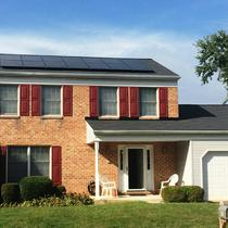 All-black panels in Reisterstown, MD