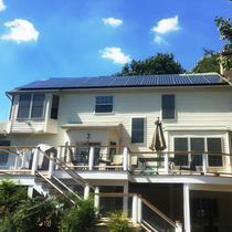 All new LG 315 W panels covering 85% of bill in Clarksville, MD