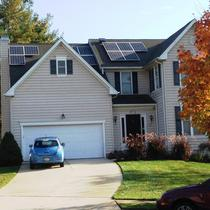 Custom 8.53 kW in Owings Mills, MD with five different arrays