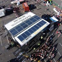 The Warped Tour: Powered by the sun and Elemental Energy!