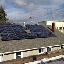 The owner of this duplex has no problem keeping these solar-powered units occupied