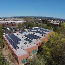 This stunning 80kW system powers a school in Portland, OR