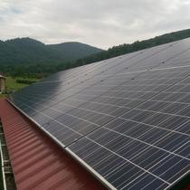 6.7kW installation in the Blue Ridge Mountains