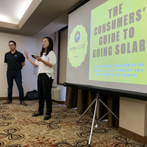 CEO Educating Consumers on Going Solar