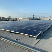 Commercial Solar Installation Completed
