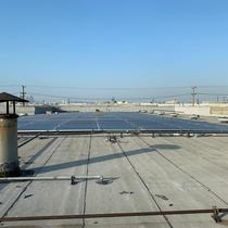 Commercial Solar Installation in North Hollywood