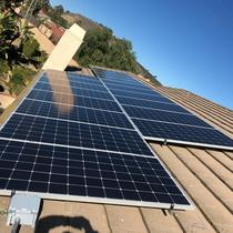 We helped this beautiful Property Generate It's Own Electricity