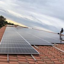 Solar Installation on Tile Roof