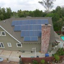 SunPower by Precis solar installation on Riverside County historic home.