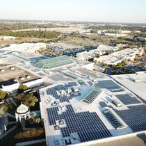 Commercial Solar at Mall of LA