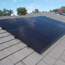 Flat Tile Solar Installation